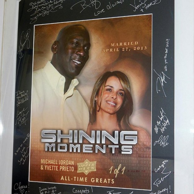 Michael Jordan Wedding Card Shining Moments 1 of 1