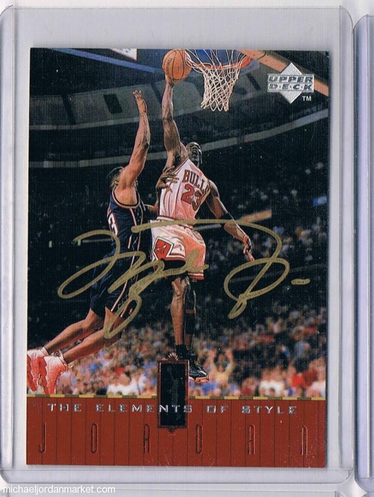 Michael Jordan Fake Autograph Forgery